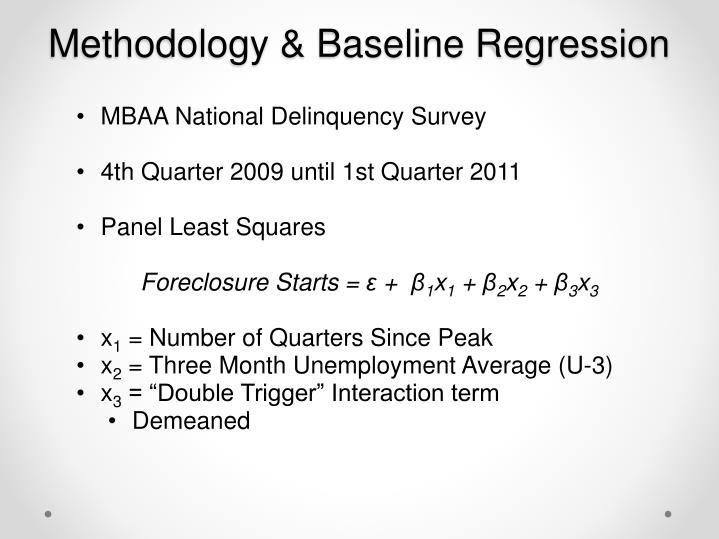 Methodology & Baseline Regression