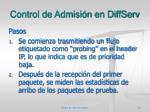 control de admisi n en diffserv6
