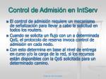 control de admisi n en intserv2