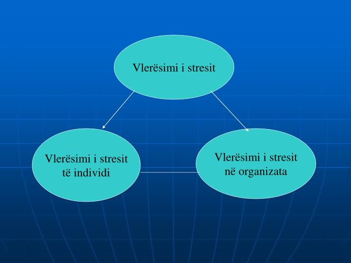 Vlerësimi i stresit