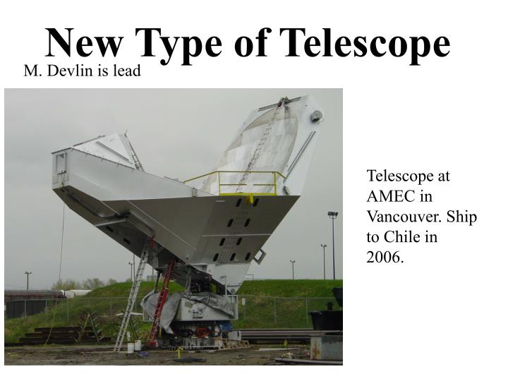 New Type of Telescope