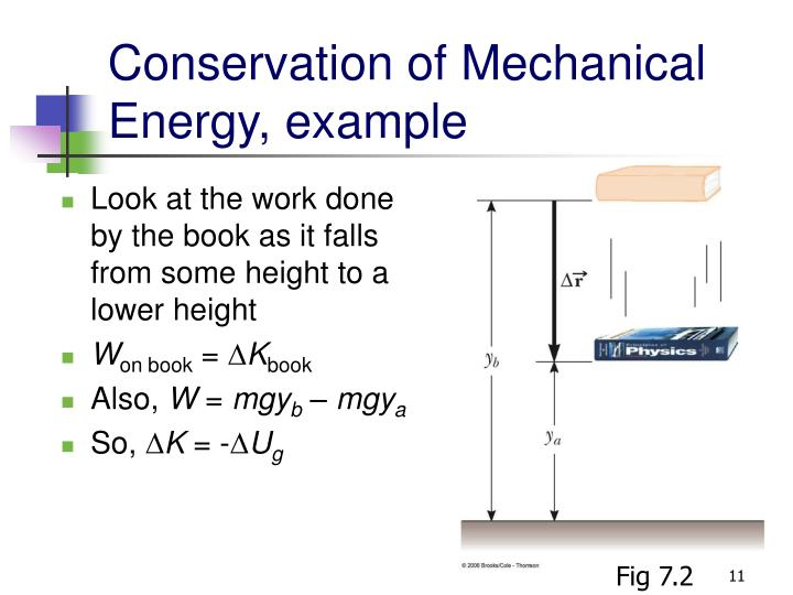 Conservation of Mechanical Energy, example