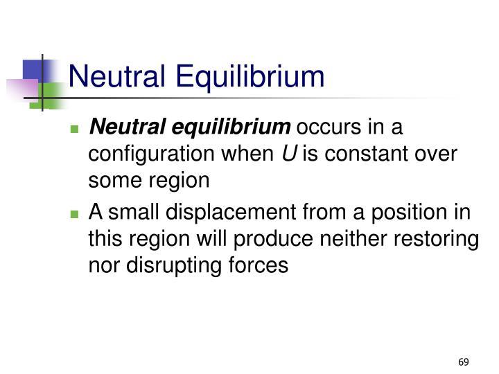 Neutral Equilibrium