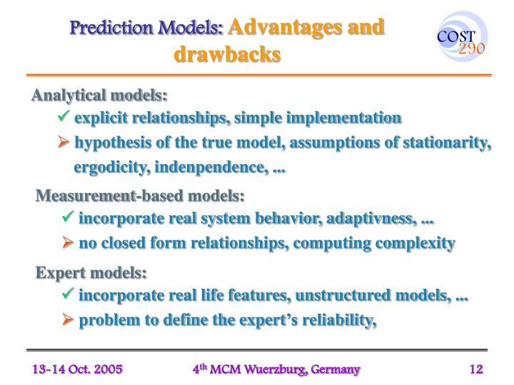 Prediction Models: