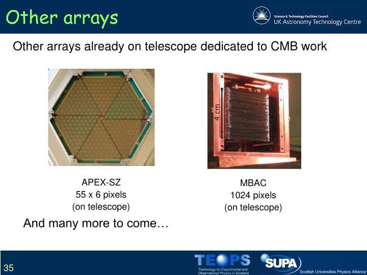Other arrays