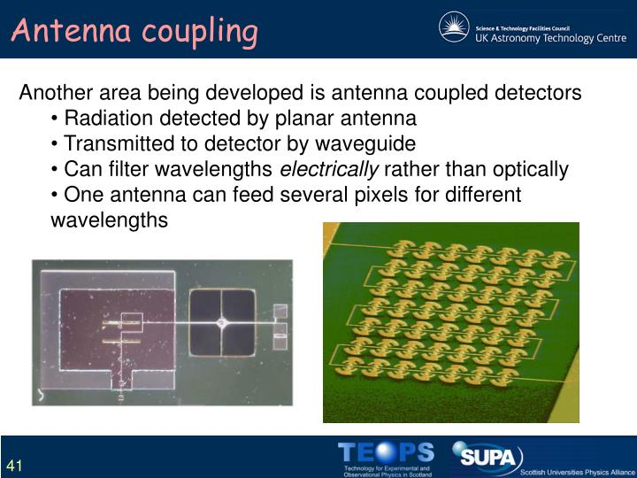Antenna coupling
