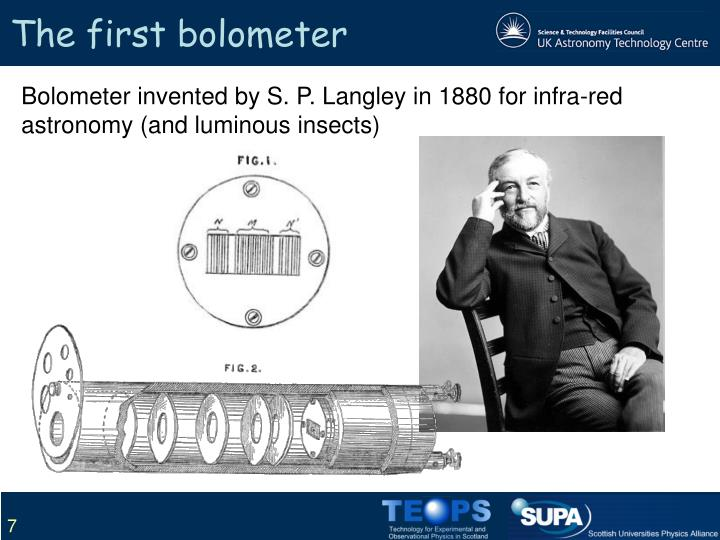 The first bolometer