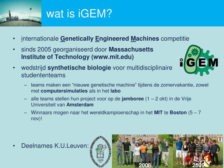 Wat is igem