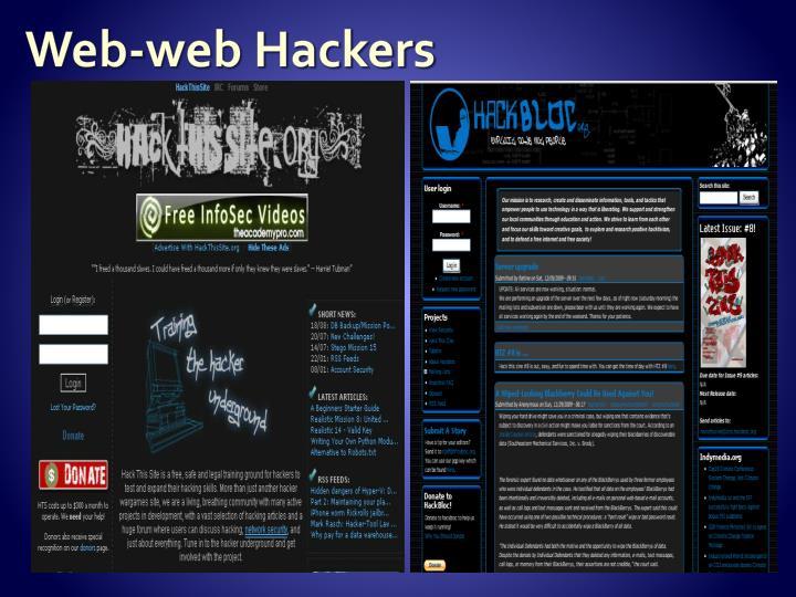 Web-web Hackers