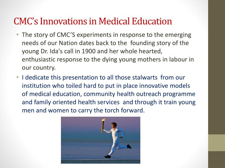 CMC's Innovations in Medical Education