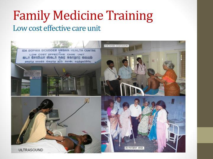 Family Medicine Training