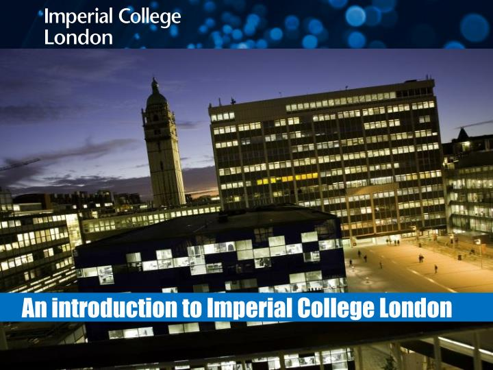 an introduction to imperial college london