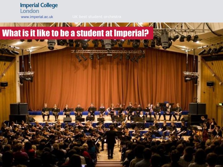 UK best student orchestra