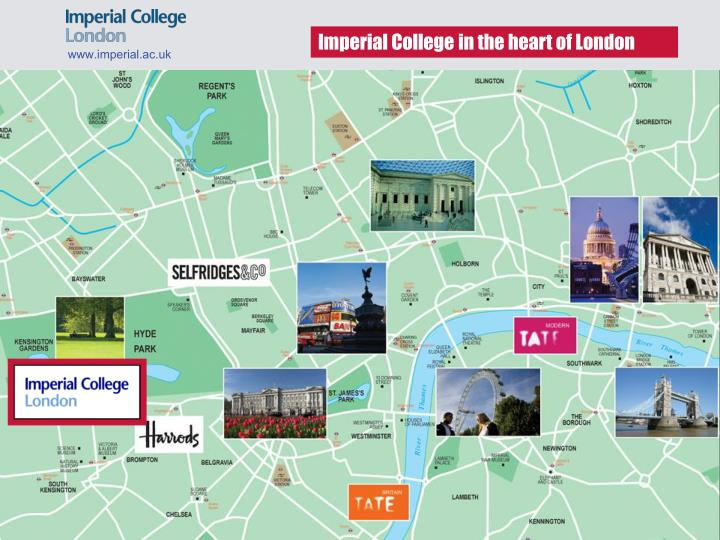 Imperial College in the heart of London
