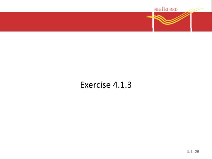 Exercise 4.1.3