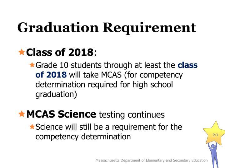 Graduation Requirement