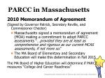 parcc in massachusetts