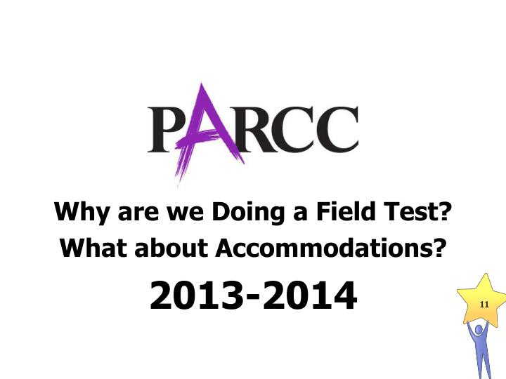 Why are we Doing a Field Test?