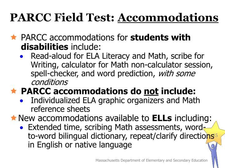 PARCC Field Test: