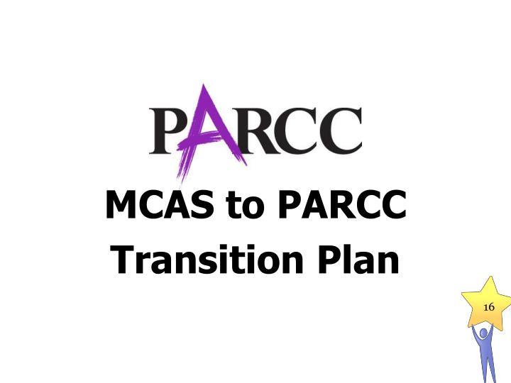 MCAS to PARCC
