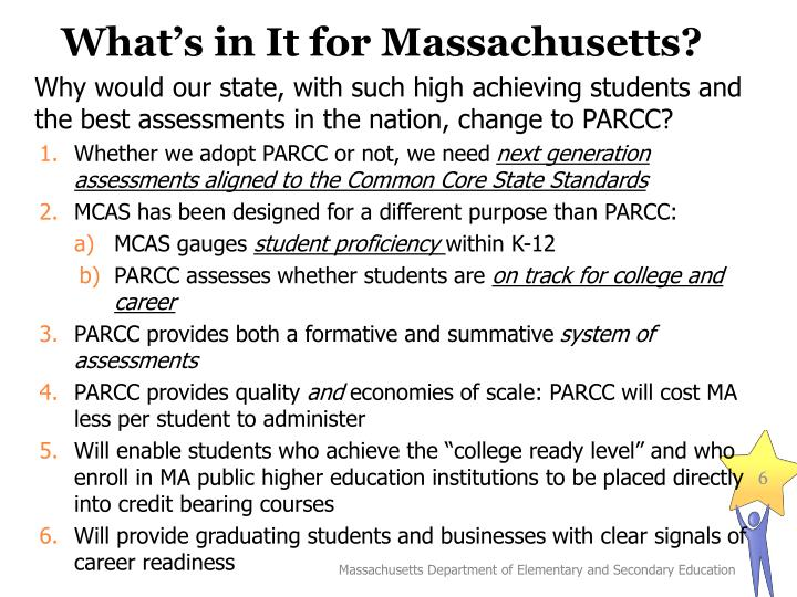 What's in It for Massachusetts?