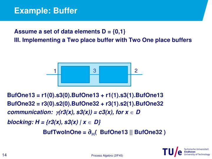 Example: Buffer