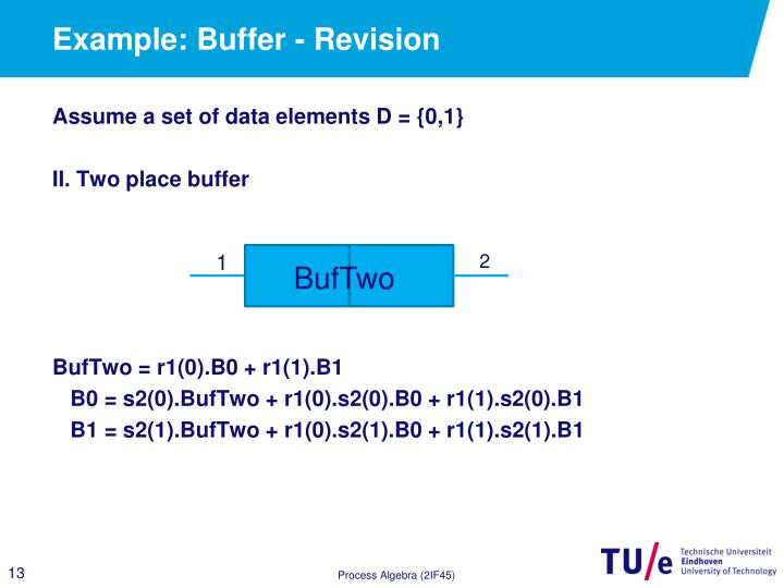 Example: Buffer - Revision