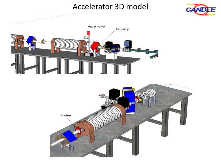 Accelerator 3D model