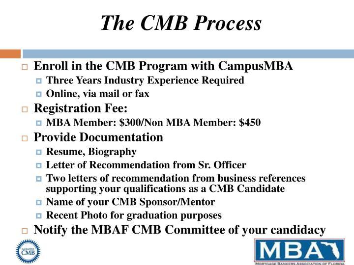 The CMB Process