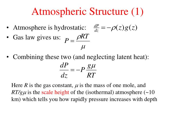 Atmospheric Structure (1)