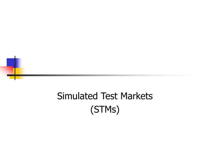 Simulated Test Markets