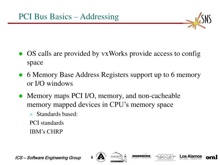 PCI Bus Basics – Addressing