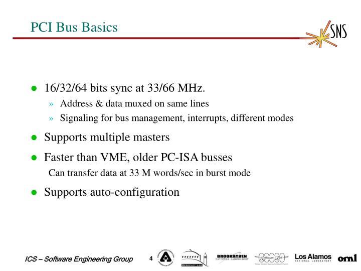 PCI Bus Basics