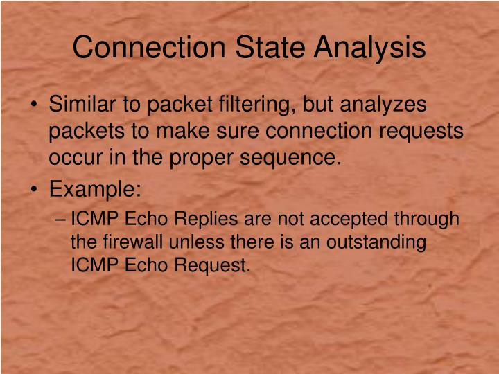 Connection State Analysis