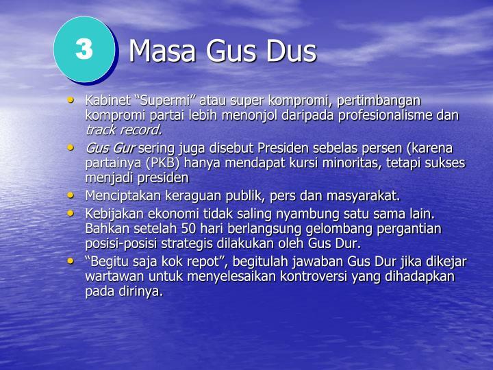 Masa Gus Dus
