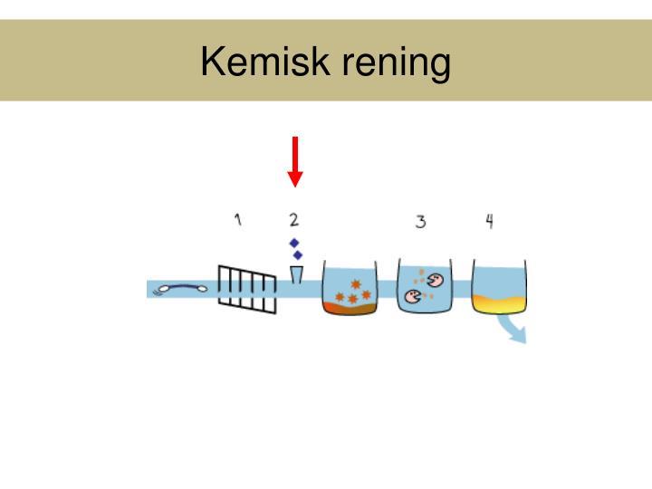Kemisk rening