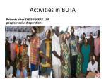 activities in buta5