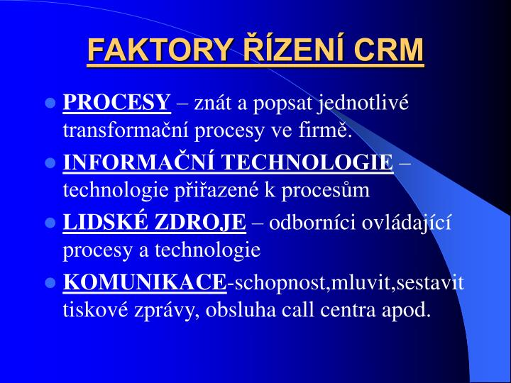 FAKTORY ZEN CRM