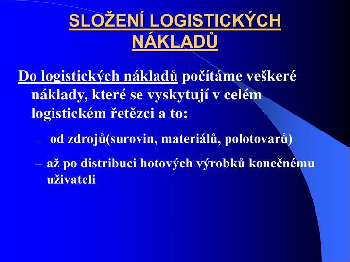 SLOEN LOGISTICKCH NKLAD