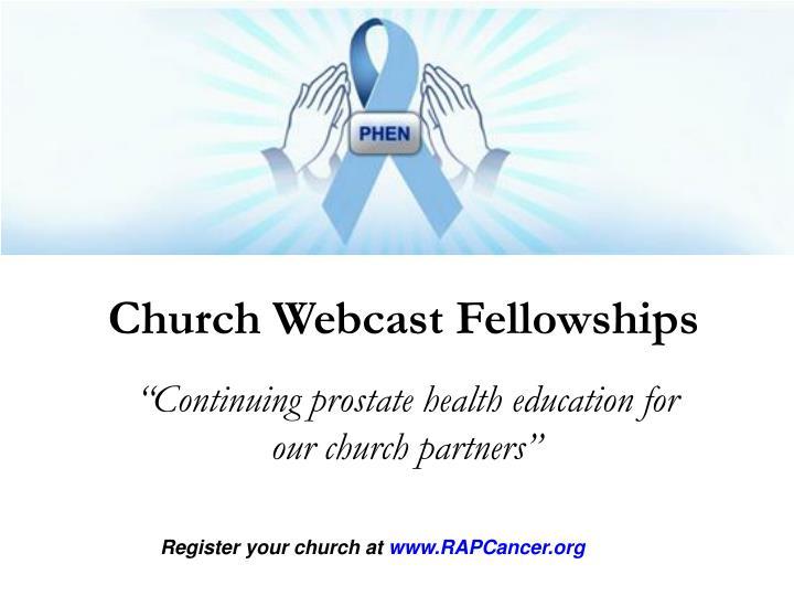 Church Webcast Fellowships