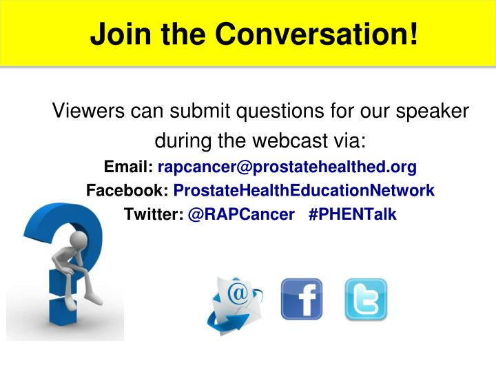 Join the Conversation!