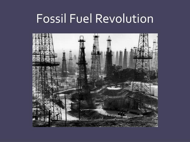 Fossil Fuel Revolution
