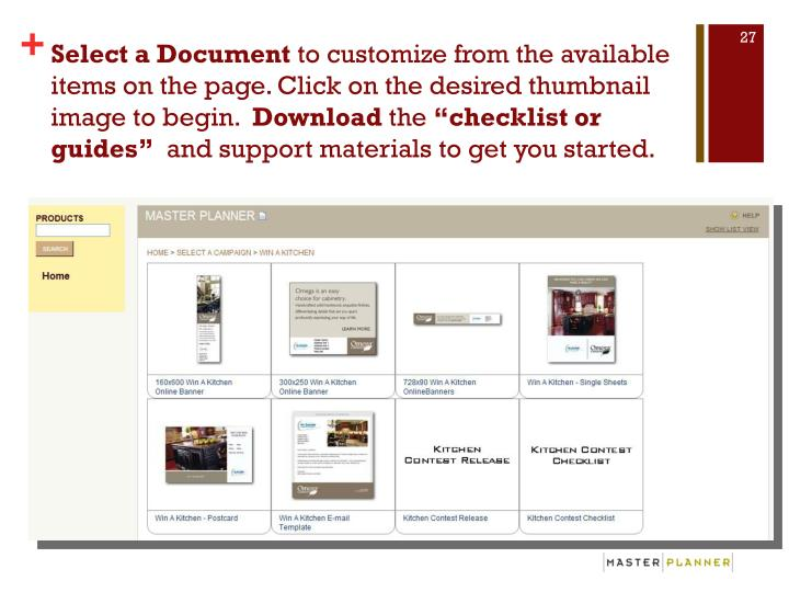 Select a Document