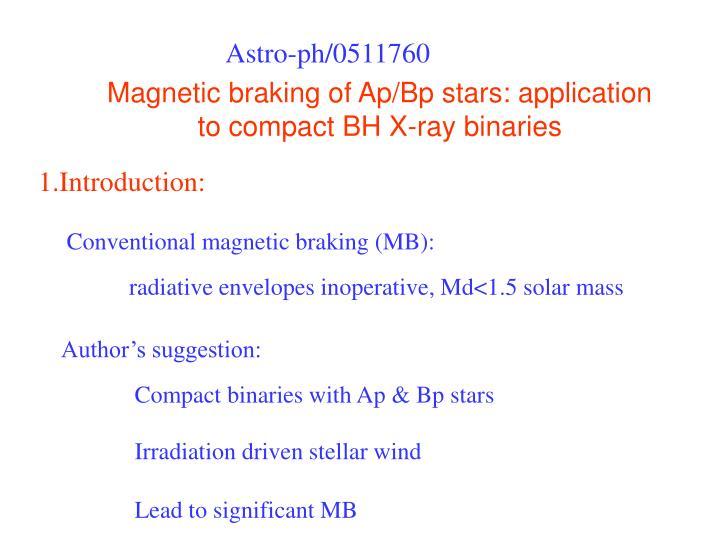 Astro-ph/0511760