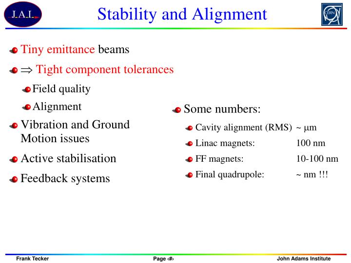 Stability and Alignment