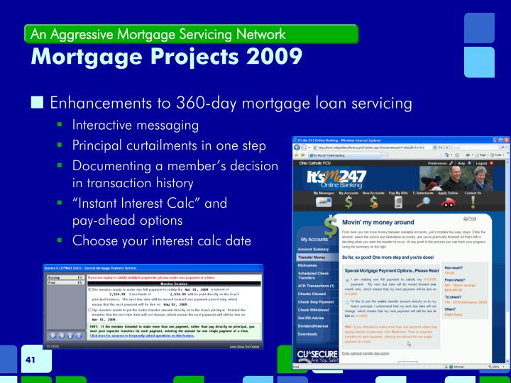 An Aggressive Mortgage Servicing Network