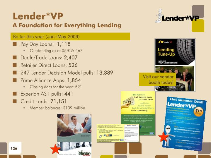Pay Day Loans: