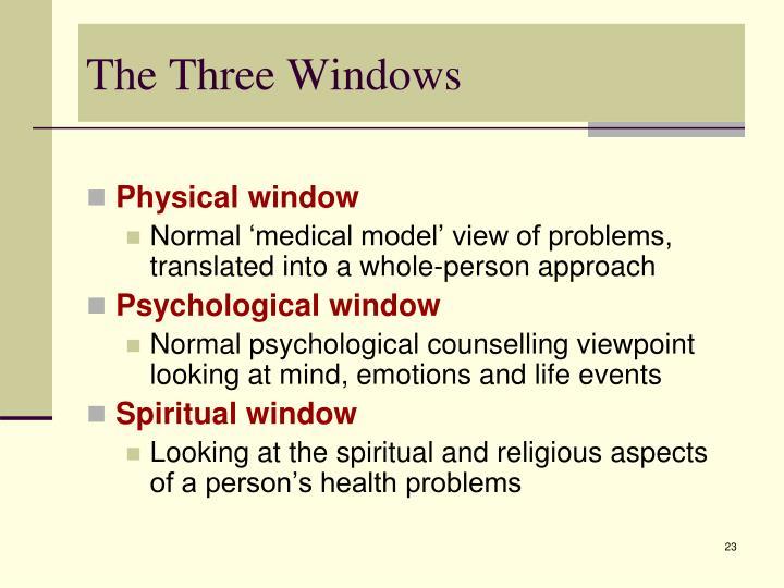 The Three Windows