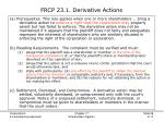 frcp 23 1 derivative actions