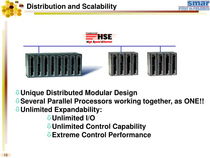 Distribution and Scalability